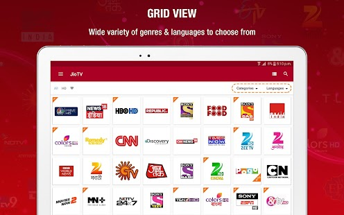 JioTV – Live TV, News, Movies, Entertainment Screenshot