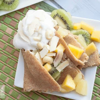 Whole Wheat Tropical Crepes