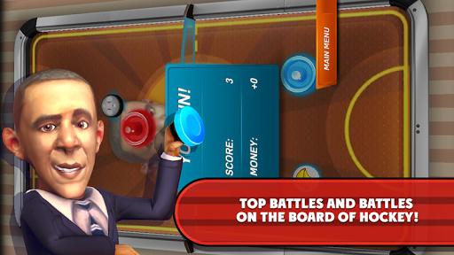 無料休闲Appのエアホッケースーパーバイザオバマ|記事Game