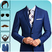 Smart Men Suit-Beard Photo Editor: Hair Style 2018