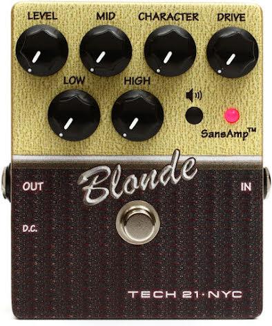 Tech 21 SansAmp Character Series Blonde V2