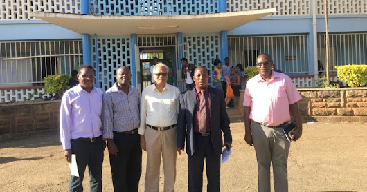 T. S. Suryanarayanan, Ph.D. Director Vivekananda Institute of Tropical Mycology (VINSTROM)visited the Department of Microbiology, Kenyatta University, Kenya as Visiting Expert of The World Academy Sciences, for 2 weeks from 5th to 18th September 2018