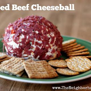 Chipped Beef Cheeseball.