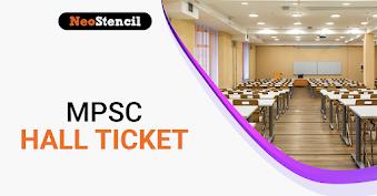 MPSC Hall Ticket 2020