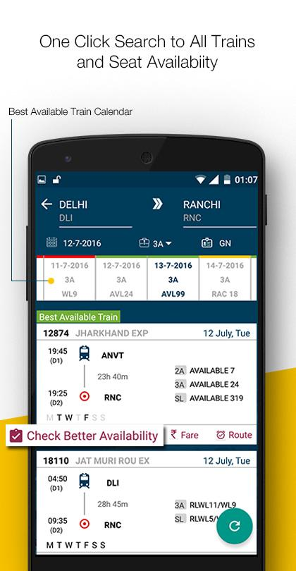 Easyrail Irctc Indianrail Pnr Android Apps On Google Play