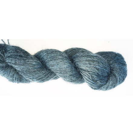 Knit4u - Fårö Tunn, Aquablå
