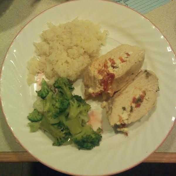 Feta Stuffed Chicken Recipe