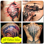 3D Tattoos Ideas Icon