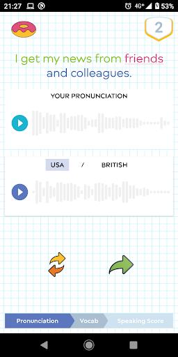Donut Language Game screenshot 4