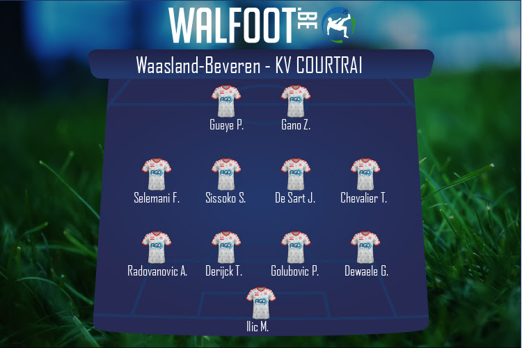 KV Courtrai (Waasland-Beveren - KV Courtrai)