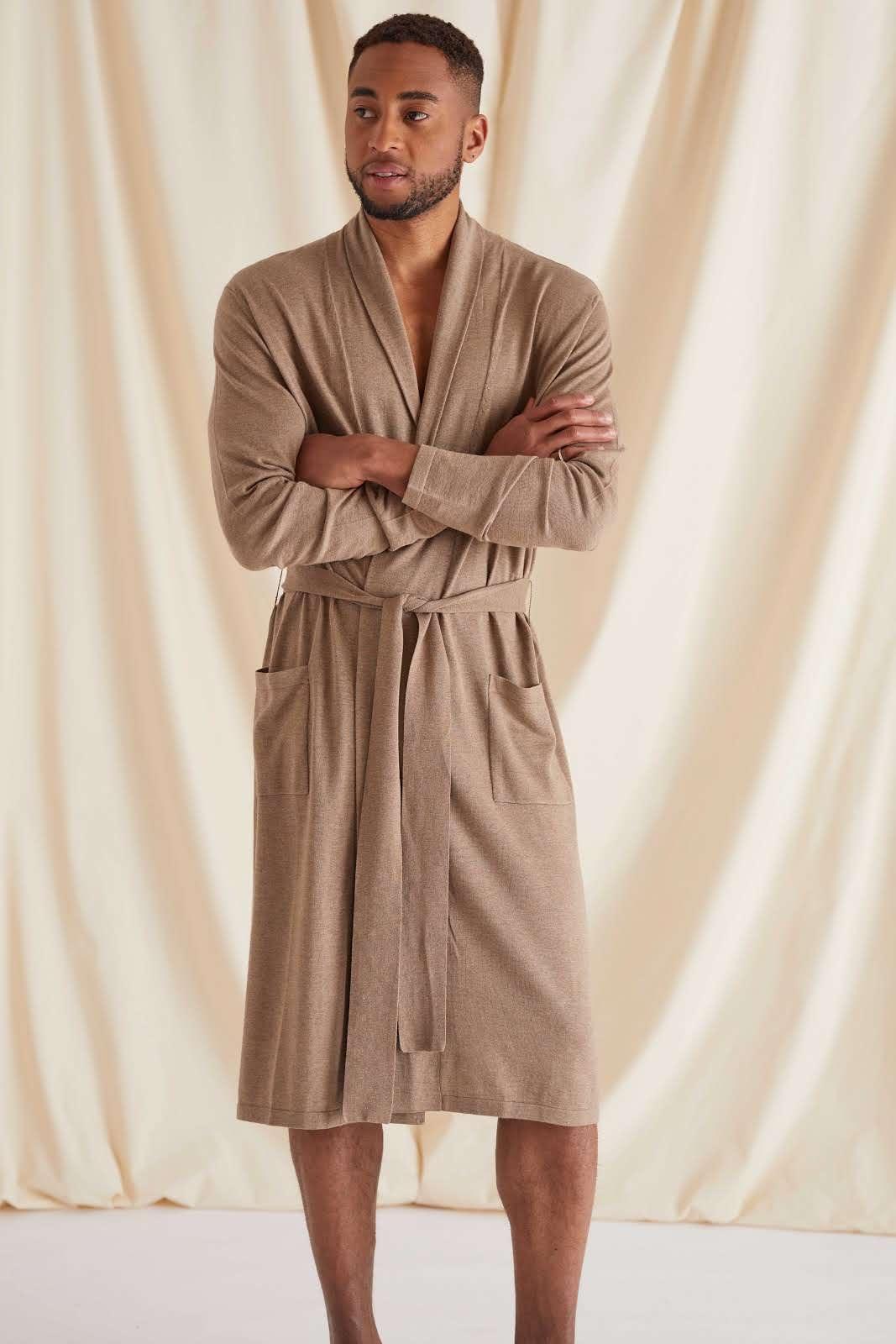 Man Fine Knit Robe