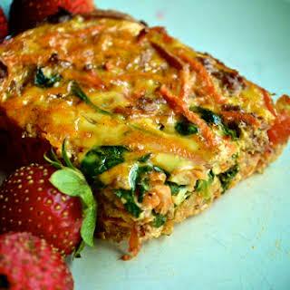 Make Ahead Mexican Breakfast Casserole (Gluten Free, Grain Free, and Dairy Free).