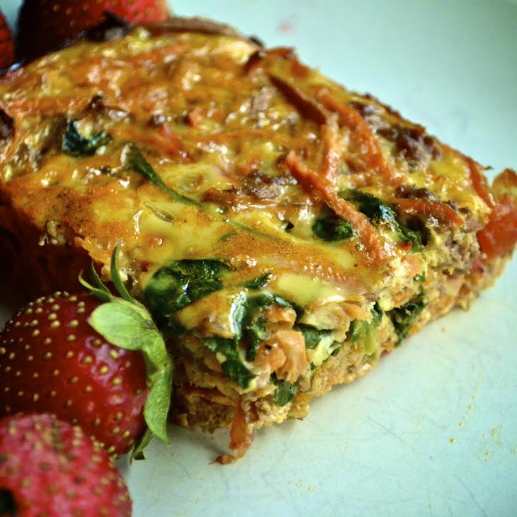 Make Ahead Mexican Breakfast Casserole (Gluten Free, Grain Free, and Dairy Free)