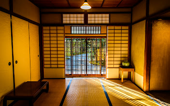 """Photo: This photo appeared in an article on my blog on Nov 22, 2013. この写真は11月22日ブログの記事に載りました。 """"Entrance Foyer to the Seifuso Villa in Kyoto"""" http://regex.info/blog/2013-11-22/2341"""