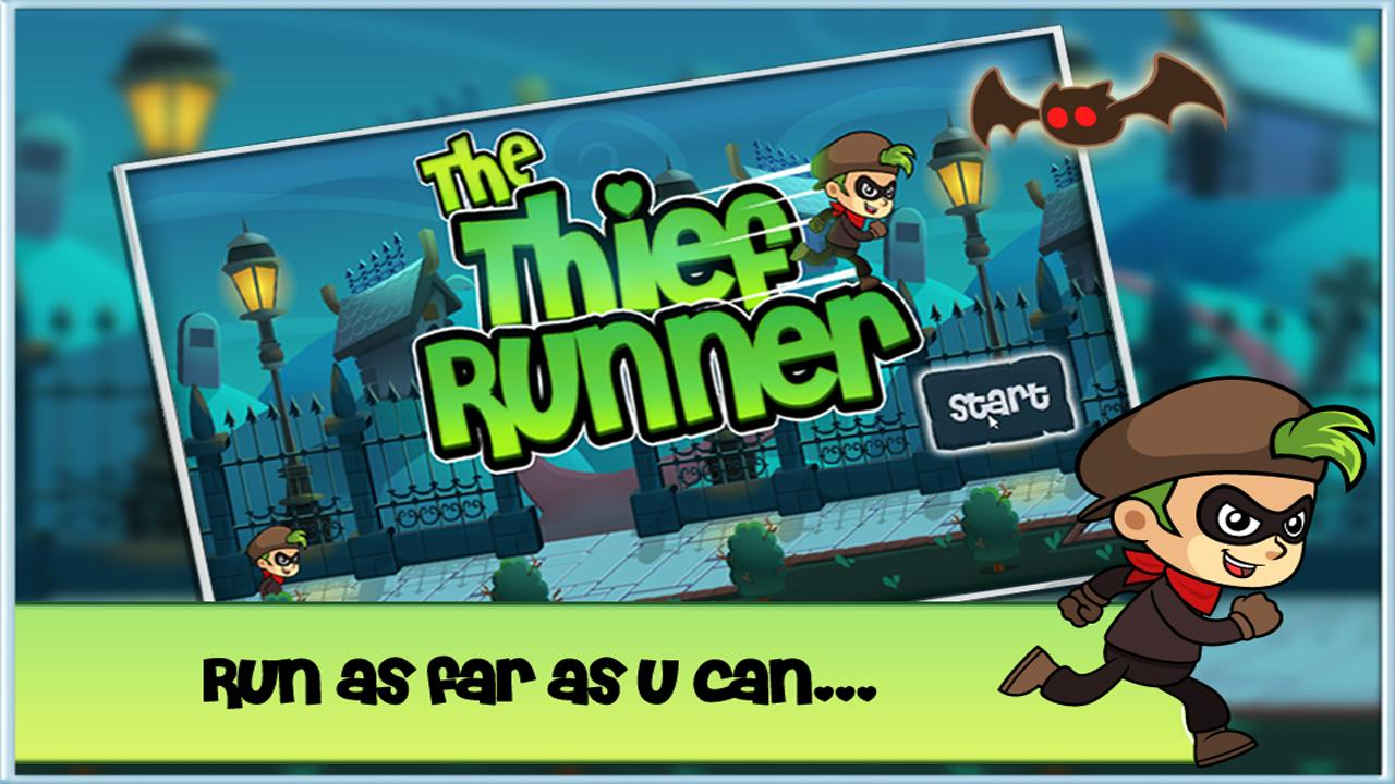 Thief Runner One Touch Escape- screenshot
