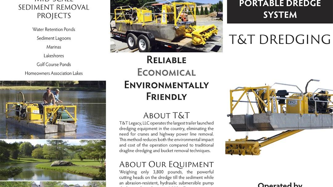 T&T Dredge - Dredging Company serving North Carolina and