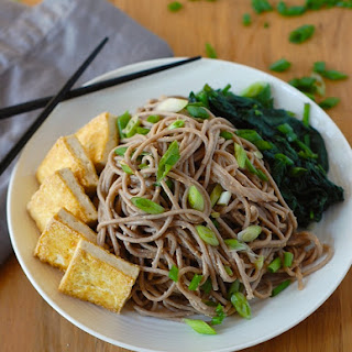 Soba Noodles with Tofu and Spicy Sesame Sauce