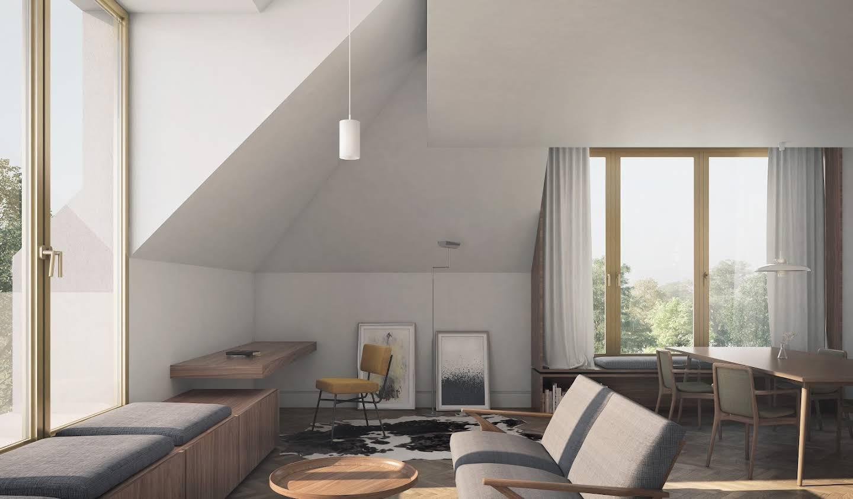 Appartement avec terrasse Kirchberg
