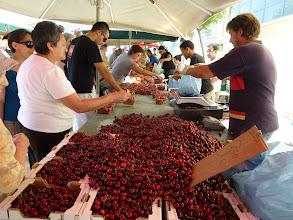 Photo: cherries are in the season