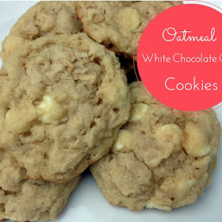 Oatmeal White Chocolate Chip Cookies