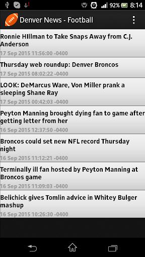 Denver News - Football