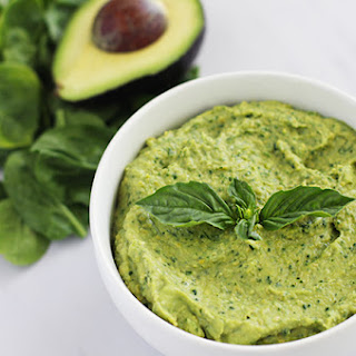 Clean Green Avocado Hummus