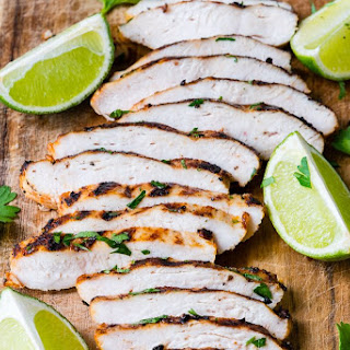 Grilled Taco + Lime Chicken for Tacos Recipe