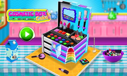 Princess Cosmetics Box Cake Maker! Cooking Game