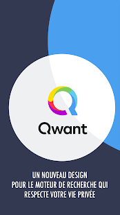 Qwant Capture d'écran