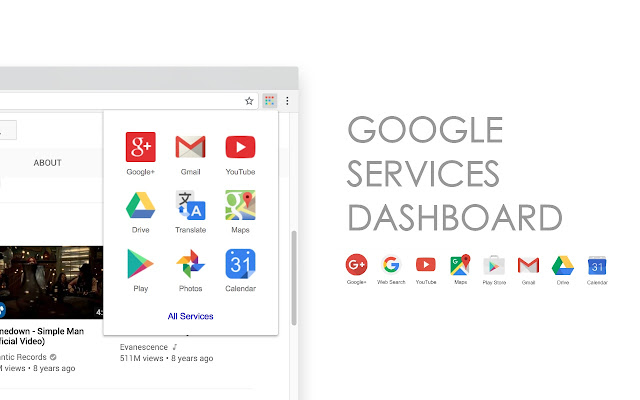 Google Services Dashboard