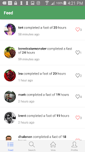 Vora - Fasting Tracker - náhled