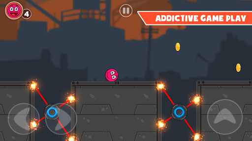 Roller Ball 3: Red Bounce Ball Love Adventure 2.3 screenshots 4