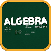 Learn Algebra Bubble Bath Game