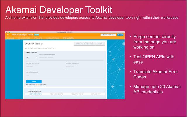 Akamai Developer Toolkit