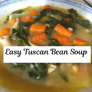 Easy Tuscan Bean Soup & Dried Italian Seasoning