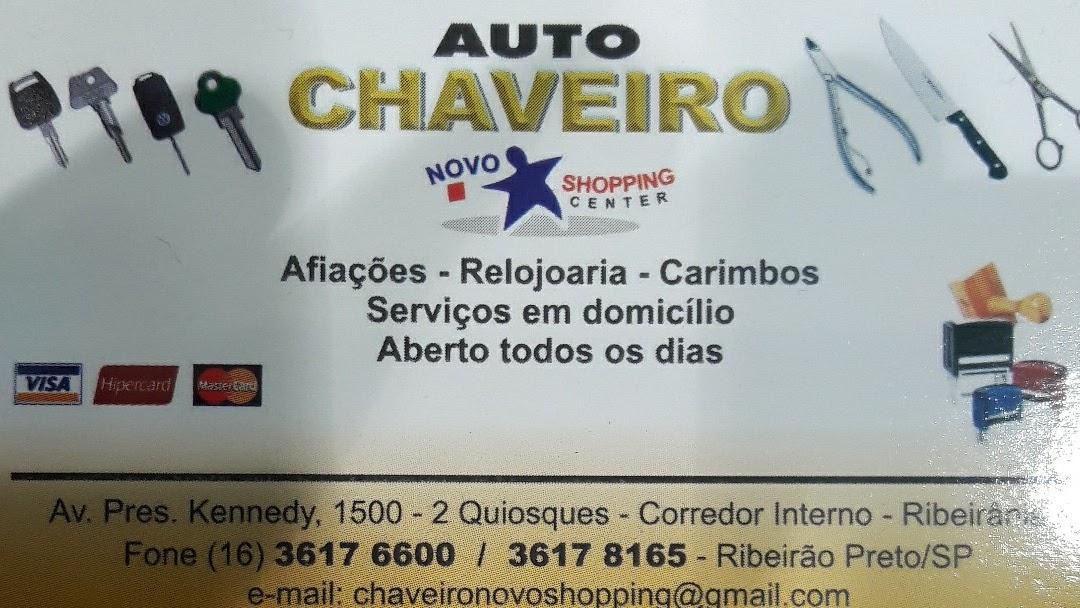 1e2f215016a Chaveiro e Relojoaria Novo Shopping - Chaveiro em Ribeirania