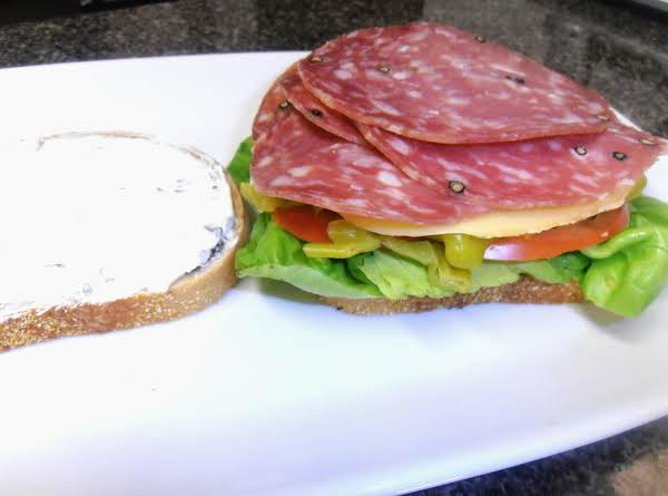 St. Louie Salami Sammie Recipe