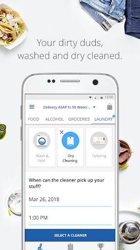 delivery.com: Delivery for Food, Alcohol & Laundry screenshot