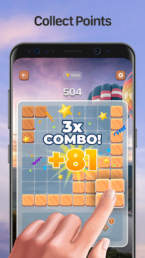 Combo Blocks - Classic Block Puzzle Game  screenshots 4