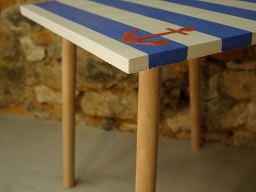 mobilier en béton ciré création fait-main Junny