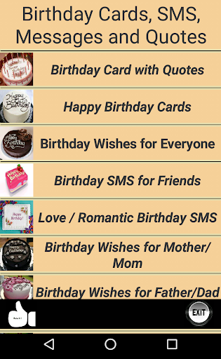 Happy Birthday Cards & Quotes screenshots 1