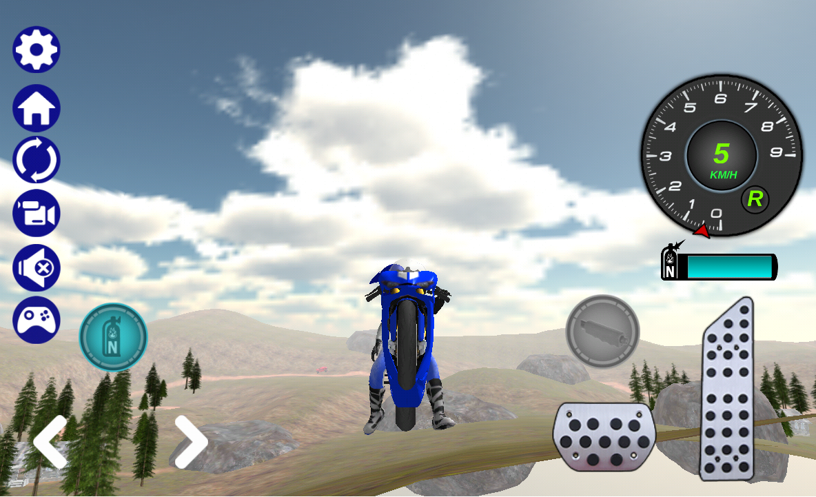 Offroad Bike Race 3D- screenshot