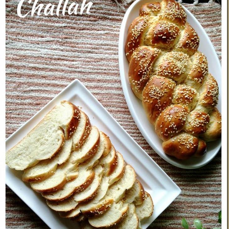 4 Strands Braided Jewish Bread–Challah (犹太辫子面包)