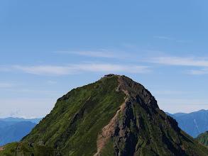 赤岳アップ