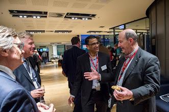 Photo: Nip Thomson holding forth to Eric Morand, Steve Jane & Harshal Nandurkar. http://www.med.monash.edu.au/cecs/events/2015-tr-symposium.html