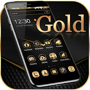 App Black Gold Theme Wallpaper APK for Windows Phone