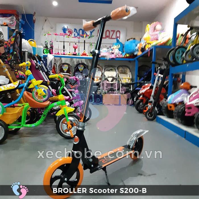 Xe trượt Scooter 2 bánh Broller S200B 2