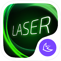 Laser theme for APUS Launcher