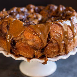 Chocolate-Peanut Butter Monkey Bread