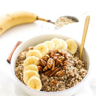 Banana Bread Buckwheat Breakfast Bowl.